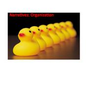 Narratives: Organization