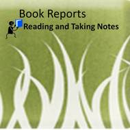 Book Reports: Reading and Taking Notes