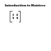 Introduction to Matrices and Their Dimensions