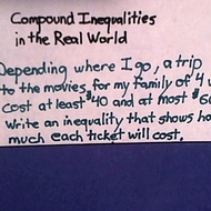 Compound Inequalities in the Real World