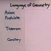 Language of Geometry