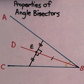 Properties of Angle Bisectors