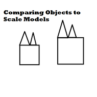 Comparing Objects to Scale Models