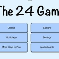 Playing the 24 Game