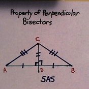 Property of Perpendicular Bisectors