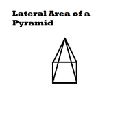 Lateral Area of a Pyramid