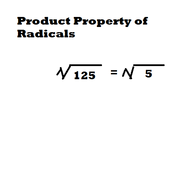 Product Property of Radicals