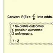 Converting Between Odds and Probability