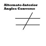 Alternate-Interior Angles Converse