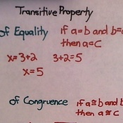 Transitive Property of Congruence and Equality