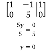 Using Elementary Row Operations to Solve for Systems of Equations