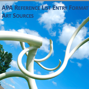 APA Bibliography: Art Sources