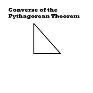 Converse of the Pythagorean Theorem