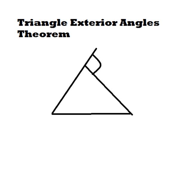 Triangle Exterior Angles Theorem
