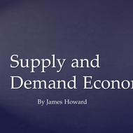 Supply and Demand Economics