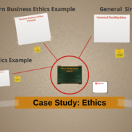 Case Study: Ethics
