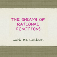 The Graph of Rational Functions