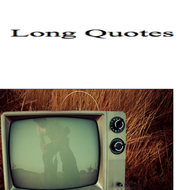 Long Quote Punctuation