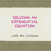Solving an Exponential Equation