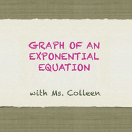 Graph of an Exponential Equation