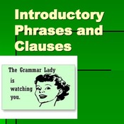 Introductory Clauses #1