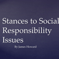 Stances to Social Responsibility Issues
