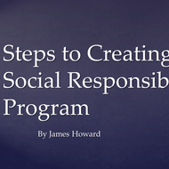 Steps to Creating a Social Responsibility Program