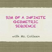 Sum of an Infinite Geometric Sequence