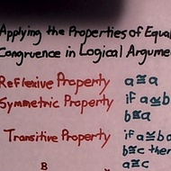 Applying the Properties of Equality/Congruence in Logical Arguments