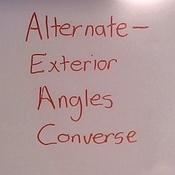 Alternate exterior angles converse tutorial sophia learning - Alternate exterior angles converse ...