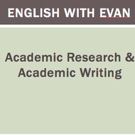Academic Research & Academic Writing