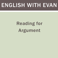 Reading for Argument