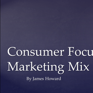 Consumer focused Marketing Mix