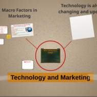 Technology and Marketing