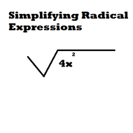 Simplifying Radical Expressions