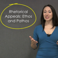Rhetorical Appeals: Ethos and Pathos