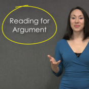 Reading for Argument