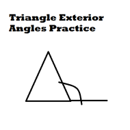 Triangle Exterior Angles Practice