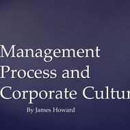 Management Process and Corporate Culture