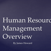Human Resource Management Overview