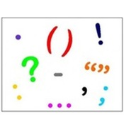 A bunch of punctuation marks:  Using Parentheses vs. Dashes