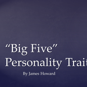 """Big Five"" Personality Traits"