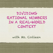 Dividing Rational Numbers in a Real-World Context