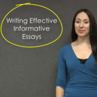 Writing Effective Informative Essays