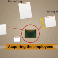 Acquiring the employees