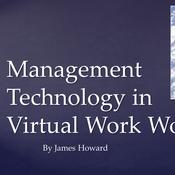 Management Technology in Virtual Work World
