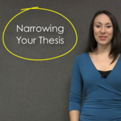 Narrowing Your Thesis