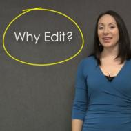 Why Edit?