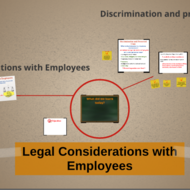 Legal Considerations with Employees
