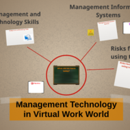Management Technology in Virtual Work World